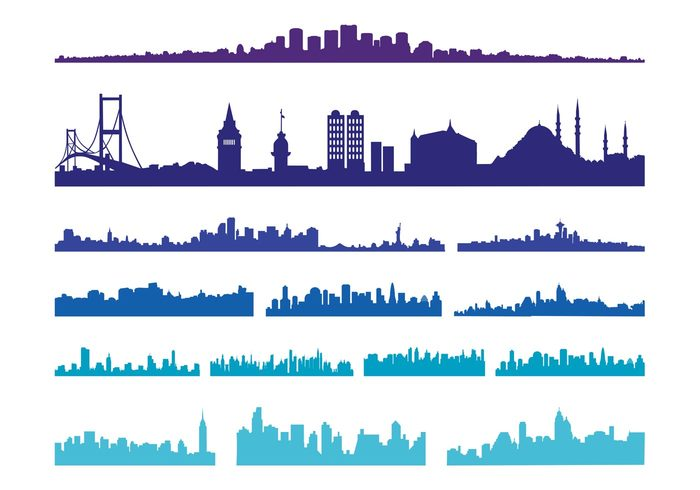big-city-skylines-vector